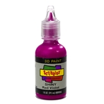Scribbles - Dimensional Fabric Paint - SHINY RED VIOLET