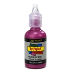 Scribbles - Dimensional Fabric Paint - IRIDESCENT PLUM LUSTER