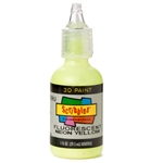Scribbles - Dimensional Fabric Paint - NEON YELLOW