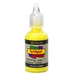 Scribbles - Dimensional Fabric Paint - CRYSTAL YELLOW
