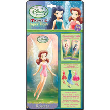 Disney's Fairies Magnetic Paper Doll Mini Tin Set 2 Rosetta & Si