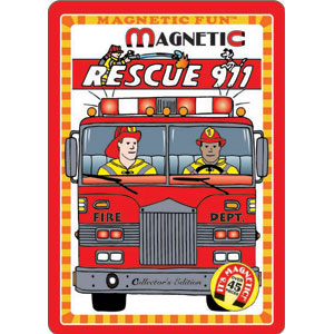 Magnetic Fun Tin RESCUE 911