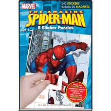 MARVEL Spiderman Sticker Puzzles Set 1