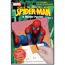 MARVEL Spiderman Sticker Puzzles Set 2