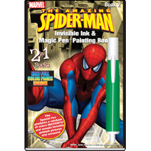 MARVEL Spiderman 2 in 1 Book 2