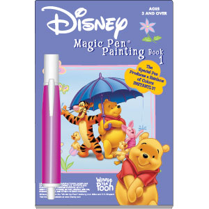 DISNEY'S Winnie the Pooh Magic Pen Painting Book 1