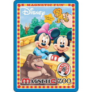 DISNEY'S Magnetic Fun Tin Zoo