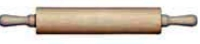 "Fox Run - 19"" Hardwood Rolling Pin"