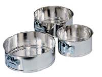 "Fox Run - 3 PC MINI SPRINGFORM PAN SET- 5"", 6"", 7"""