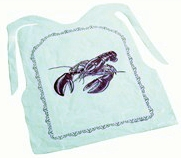 Fox Run - 4 PK Disposable Lobster Bib Set