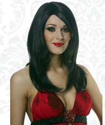 Franco - Sharon Wig Black