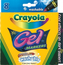 Crayola Washable 8CT Gel Markers