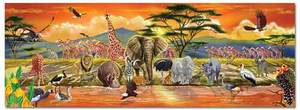 Melissa & Doug - 100 Piece Safari Floor Puzzle