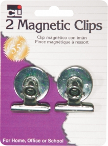 CLI - 2 PK Magnetic Clips