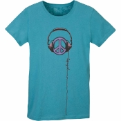 Life Is Good - Women's Creamy Tee - Peace Sign