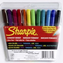Sharpie - Ultra Fine 12 Pack Marker Set