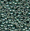 Sea  8/0 Duracoat Galvanized Seed Beads
