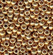 Champagne 8/0 Duracoat Galvanized Seed Beads