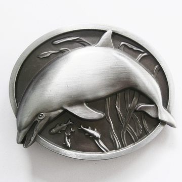 New Vintage Fish Dolphin Wildlife Belt Buckle Gurtelschnalle Boucle de ceinture