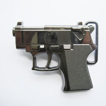 Belt Buckle (Grey Hand Gun)