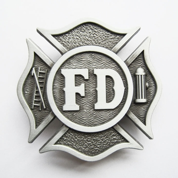 New Vintage Fire Fighter Dept Classic Hero Belt Buckle Gurtelschnalle Boucle de ceinture BUCKLE-OC030AS