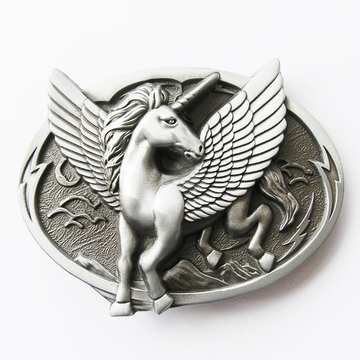 New Vintage Original Unicorn Belt Buckle Gurtelschnalle Boucle de ceinture