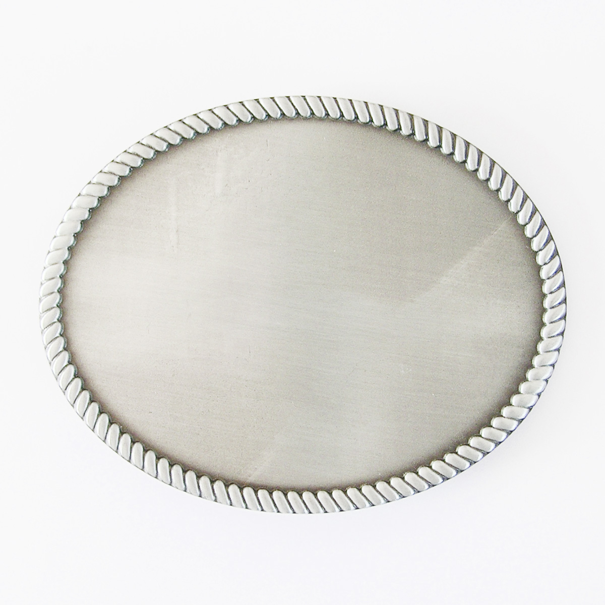 ead70b2add42 Details about New Vintage Classic Western Rope Oval Blank Belt Buckle also  Stock in US