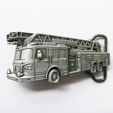 New Vintage Fire Truck Firefighter Belt Buckle Gurtelschnalle Boucle de ceinture
