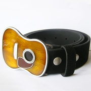 Belt | Guitar Music Real Leather Belt