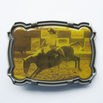 Cowboy Rodeo Western Belt Buckle