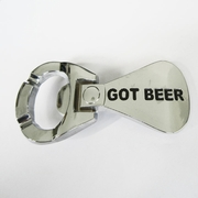 New Bright Silver Got Beer Bottle Opener Belt Buckle Gurtelschnalle Boucle de ceinture