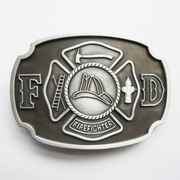 New Vintage Fire Hero Firefighter FD Belt Buckle Gurtelschnalle Boucle de ceinture BUCKLE-OC029AS