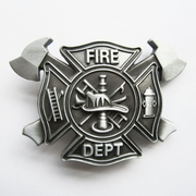New Fire Fighter Cross Vintage Belt Buckle Gurtelschnalle Boucle de ceinture BUCKLE-OC010AS