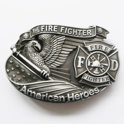New Vintage American Hero Firefighter Belt Buckle Gurtelschnalle Boucle de ceinture BUCKLE-3D039AS