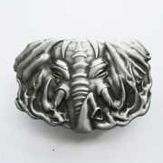 New Vintage Western Wildlife Elephant Lighter Belt Buckle Gurtelschnalle Boucle de ceinture
