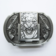 New Vintage Tiger Guns Lighter Belt Buckle Gurtelschnalle Boucle de ceinture BUCKLE-LT016AS