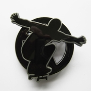 Belt Buckle (Skateboard Play Boy Spinner)