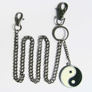 Wallet Key chain (Yin Yang Taiji Jeans Waist Wallet Key Chain)
