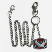 3D Eagle Flag Western Jeans Waist Wallet Key Chain