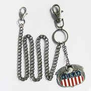 Wallet Chain (Eagle W Flag Jeans Waist Wallet Chain)