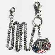 Wallet chain (Fire Fighter FD Jeans Waist Wallet Key Chain)