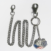 Wallet chain (American Hero Police Jeans Waist Wallet Key Chain)