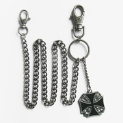 Wallet chain (Skull Iron Cross Jeans Waist Wallet Key Chain)
