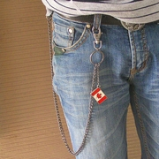 Wallet chain (Canada Maple Leaf Flag Jeans Wallet Chain)