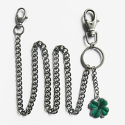 Wallet chain (Irish Four Leaf Clover Wallet Chain)