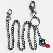 Wallet chain (Texas Flag Jeans Waist Wallet Key Chain)