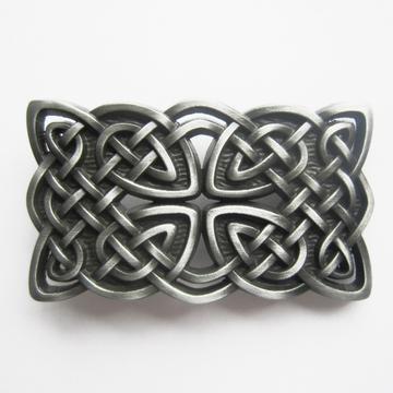 New Original Vintage Cross Celtic Knot Rectangle Belt Buckle Gurtelschnalle Boucle de ceinture