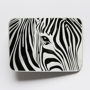 New Jeansfriend Original Africa Zebra Animal Wildlife Western Belt Buckle