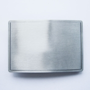 New Rectangle Blank Belt Buckle For Engraving Drawing