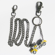 Motorcycle Rider Biker Heavy Metal Jeans Wallet Key Chain